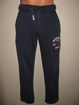 Boys Dark Blue Nicholson Joggers Sweat Pants Jog Bottom Fleece Joggers Age 12-13