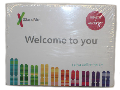New 23andMe DNA Test Welcome To You Health + Ancestry Saliva Collection Kit