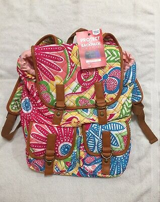 Rucksack Quilted Print