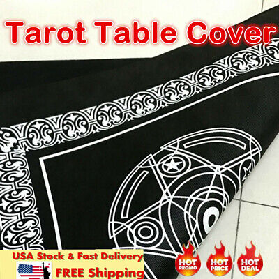 Game Textiles Board Tarot Table Cover Playing Cards Pentacle Tarot wy