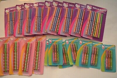 Lot of (20) NEW Sanrio Hello Kitty Markers, Glitter Pens & Mini Gel Pens Sets