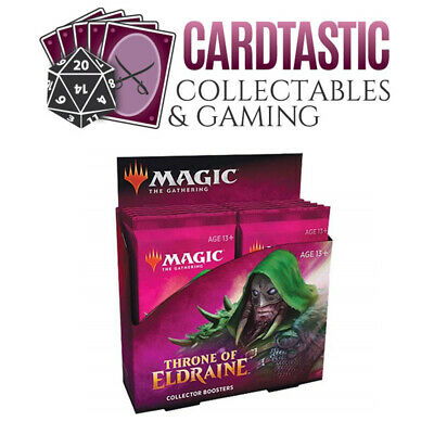 Magic the Gathering TCG Throne of Eldraine Collector Booster Display