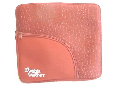 Weight Watchers Organizer Case Bag Pouch Neoprene Red, points plus calculator