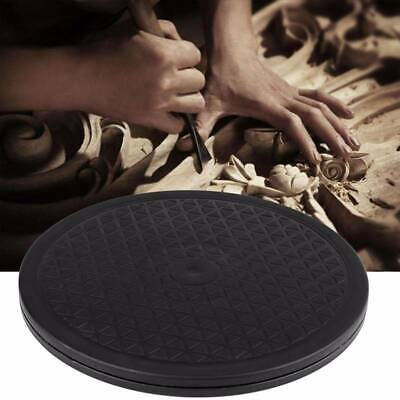 Black 30cm Pottery Banding Wheel Potters Turntable Turnplate Clay JJ