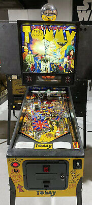 The Who's Tommy Pinball Machine By Data East LEDs Collectible