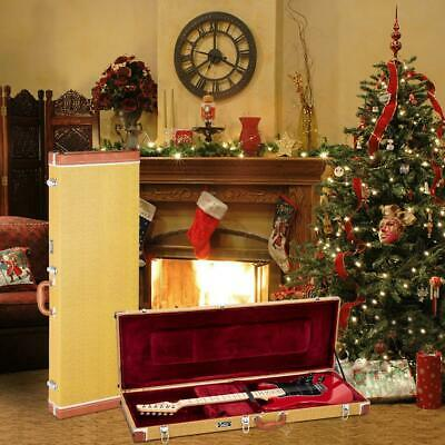 Electric Guitar Square Case Stratocaster Telecaster Guitars Hard Musicians Carry