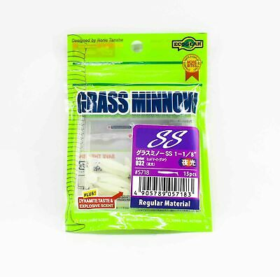 Ecogear Grass Minnow SS 1-1//8inch Color #293 Chigyo 15pcs//pack