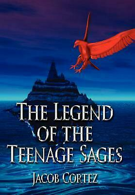 The Legend of the Teenage Sages by Jacob Cortez (English) Hardcover Book Free Sh