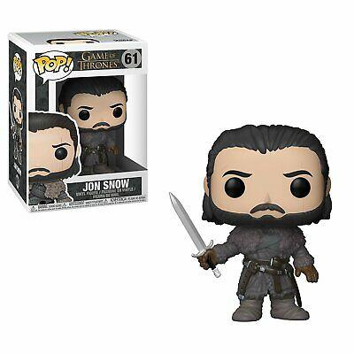 Funko Pop TV: Game of Thrones-Jon Snow (Beyond the Wall), Multicolor