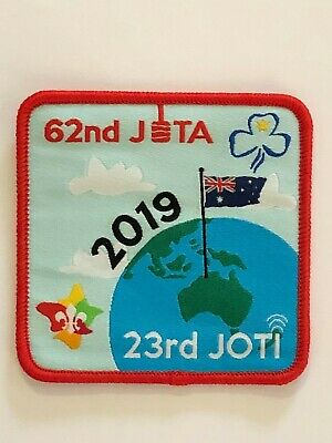 2019 JOTA JOTI Scouts Australia Badge, Jamboree on the Air & Internet, Radio
