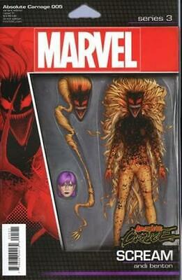 Absolute Carnage #5 Christopher Action Figure Variant Marvel Comics Near Mint