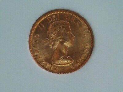 1959 Canada Small Cent Penny Uncirculated Red