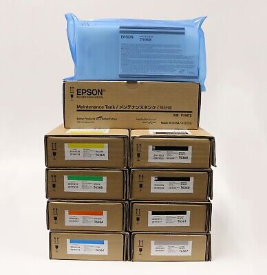 Epson Ink Bundle for Epson Stylus Pro 7700/7700M/7890/7900/WT7900/9700/9890/9900