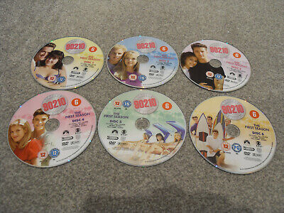 90'S DISC ONLY DVD Beverly Hills 90210 Complete Season Series One 1 Luke Perry