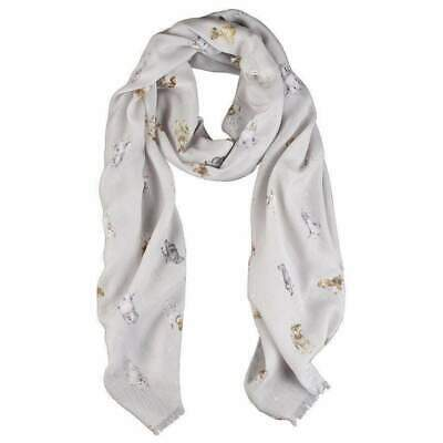 Wrendale Designs Dog's Life Design Scarf - Decorative Gift Ideas for Women