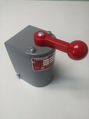 RS-1A 1.5-2 hp Motor Reversing Drum Switch Single Phase Position Maintain No Box
