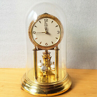 Vintage KUNDO (KIENINGER &OBERGFELL) Torsion, ANNIVERSARY CLOCK Made in Germany
