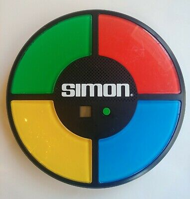 Simon Says Electronic Game Hasbro #1897 2013 Pre-owned Tested Works Vintage