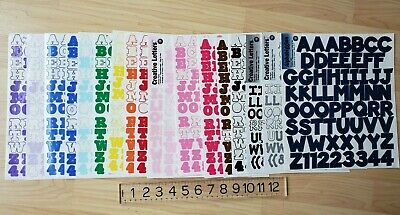 Making Memories lot alphabet & number stickers ~different colors & styles