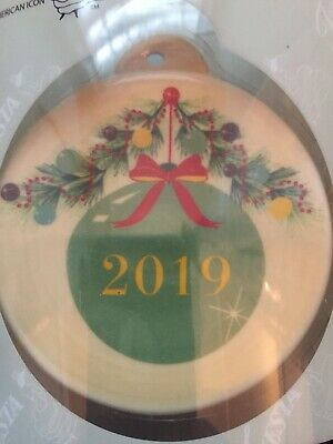 Fiesta Ornament Meadow 2019 Christmas NEW Color