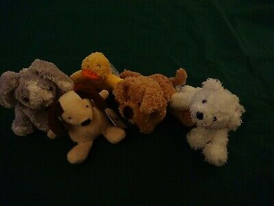 Marks And Spencer Bundle Of 5 Soft  Small Toys