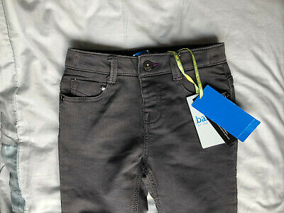 BNWT Boys Ted Baker Grey Skinny Fit Denim Jeans, Size 3 - 4 years