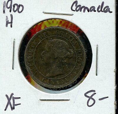 1900 Canada Large Cent Canadian Coin FN468