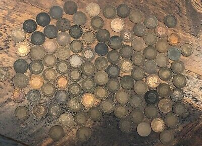 Lot of 100 Canada Large Cents Penny all after 1900 Circulated 1900 to 1920