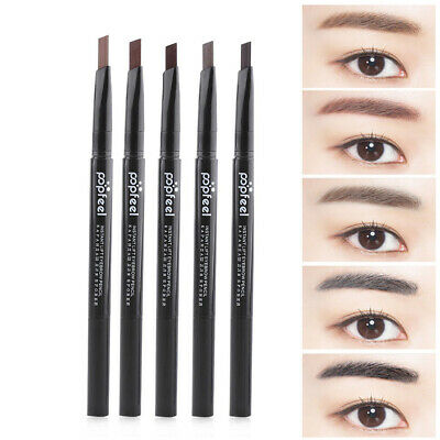 Tools Eyeliner Eyebrow Pencil with Brush Double Head Rotatable Waterproof