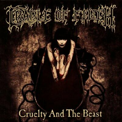 Cradle Of Filth - Cruelty and the Beast - Cradle Of Filth CD DVVG The Cheap Fast