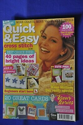 Quick & Easy Cross Stitch Magazine Issue 6 March 1996