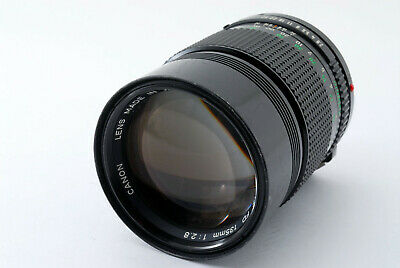 【EXC++++】Canon New FD NFD 135mm f/2.8 Telephoto MF Lens From Japan #465