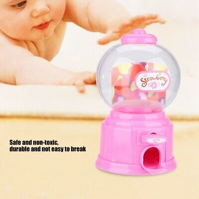 Kawaii Gumball Vending Machine Candy Mini Snacks Bubble Gum Dispenser Kids Gift