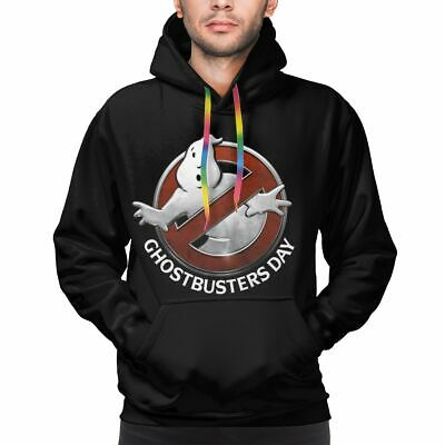 VINTAGE GHOSTBUSTERS LOGO SWEATSHIRT SWEATER PULLOVER The Real Ghost Insignia