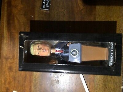 2016 Election Donald Trump President Bobblehead Inaugural Podium Limited Edition