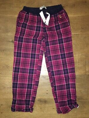 New Look Girls Brushes Cotton Lounge Trousers Excellent Condition Age 10-11 Yrs