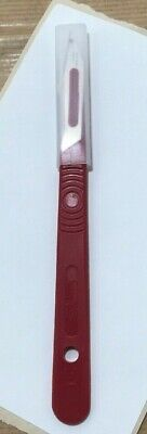 No.3 silver SCALPEL, SwannMorton, crafts, graphics, medical, surgical,steel,
