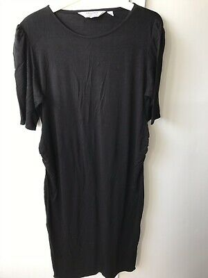 Dorothy Perkins Maternity Black Fitted Dress 14