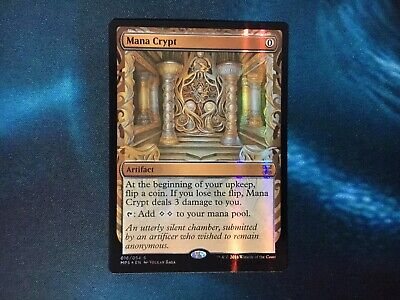 Mana Crypt Masterpiece Repack Rare Mythic Mtg Magic The Gathering Mint Foil