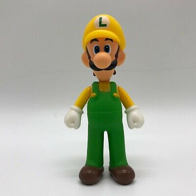 Super Mario Odyssey Luigi in Wario Costume Action Figure Toy Vinyl Doll 5.5""