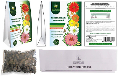 MINHORFLOR Soluble Multi Compost Slow Release Organic Nutrients | Liquid for and