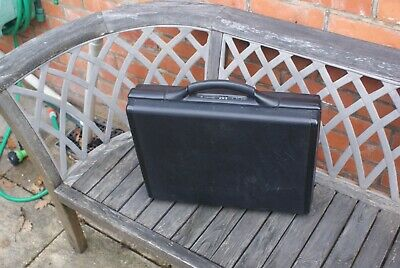Black Briefcase / Attache Case Hard Case, Combination Lock