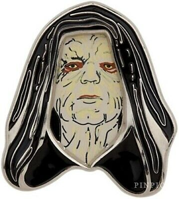 RARE HTF Disney Pin Star Wars Pin Collection Series 3 - Emperor Palpatine 3D