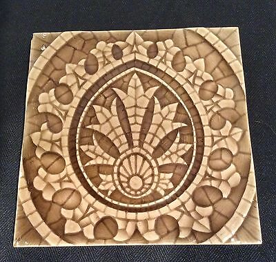 American Encaustic Tile Co Ltd Mosaic Style Fireplace Hearth Surround Tile #78