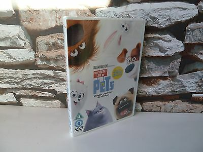 The Secret Life Of Pets Dvd - 2016 - Fast/Free Posting.