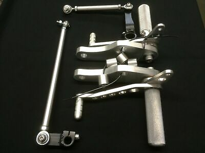 Yamaha XS650 Cafe Racer Road Racer Rear Sets- Made in America