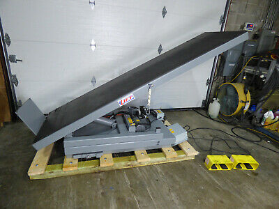 "3000lb Hydraulic Scissor Lift & Invert Table 30"" X 96"" 115 Volt Sharp"