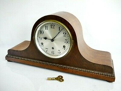Vintage Mantel Clock German DRGM 8 Day Westminster Chime Collectable