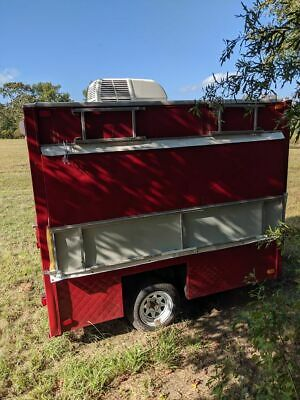 Completely Restored 2018 8' x 10' Snowball Stand / Shaved Ice Concession Trailer