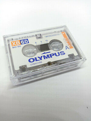 Olympus XB60 XB-60 60 Minutes MICRO Cassette Tape for Voice Recorders Dictaphone